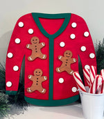Load image into Gallery viewer, Cardigan Sweater - Ready to Paint Craft Kit
