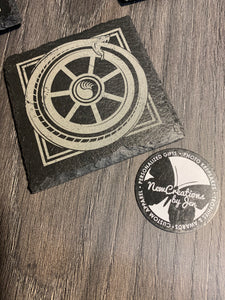 WWN - Slate Serpent Coasters