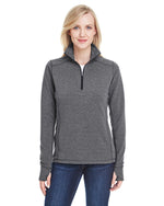 Load image into Gallery viewer, J America Ladies' Omega Stretch Quarter-Zip