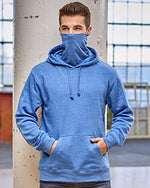Load image into Gallery viewer, Unisex Gaiter Pullover Hooded Sweatshirt JA8879