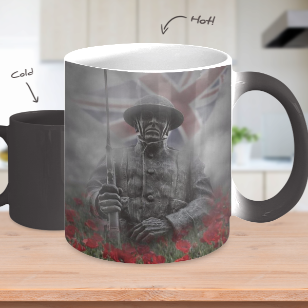 Poppy Pride Heat Mug