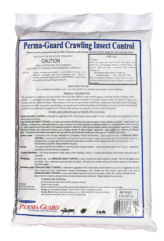 Perma Guard Crawling Insect Control Diatomaceous Earth Powder - 2 Pounds