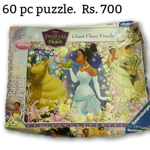 Princess And The Frog Giant Floor Puzzle 60 Pc