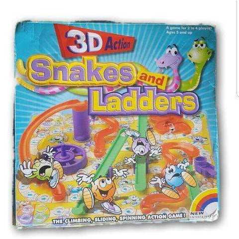 3D Snakes and Ladder - Toy Chest Pakistan