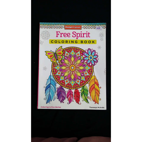 Free Spirit colouring book