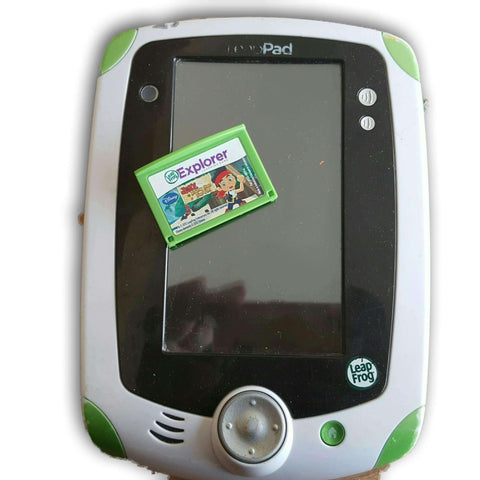 Leappad Explorer With One Cartridge