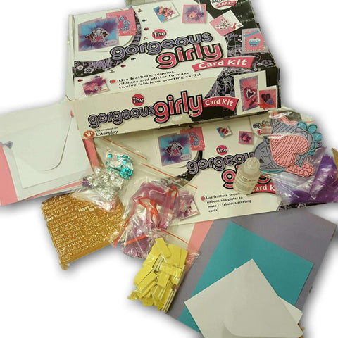 Card Making Kit For 7 Cards