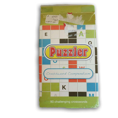 Puzzler Crossword Card Set