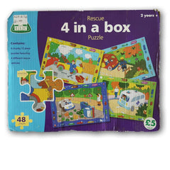 ELC 4 in a box Puzzle - Toy Chest Pakistan