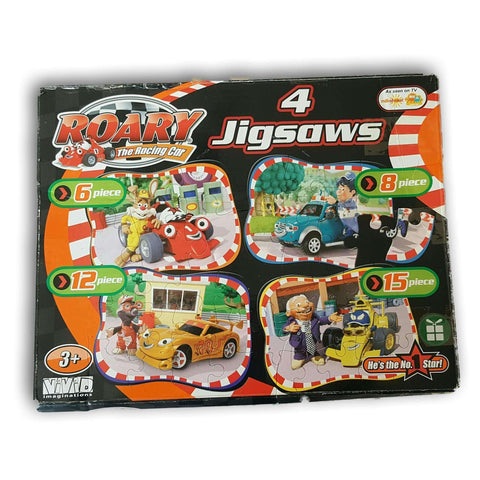 Roary Jigsaw Puzzle.  Set Of 4