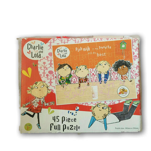45 pc Charlie and Lola Puzzle