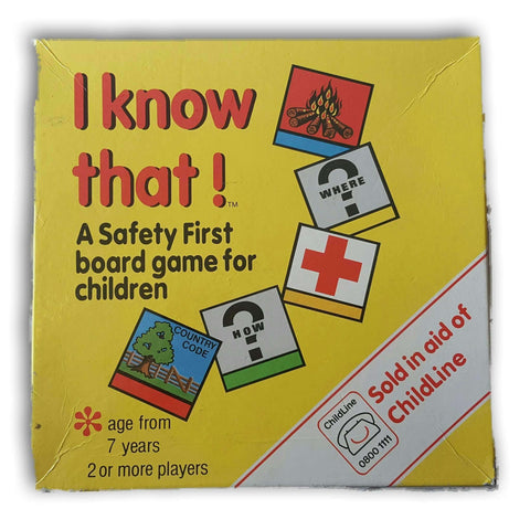 I Know That! Safety Game