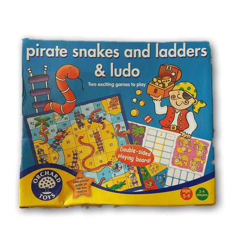 Pirate Snakes And Ladders And Ludo