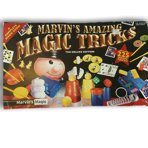 Marvin Amazing Magic Tricks