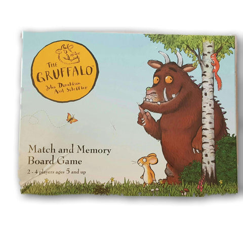 The Gruffalo Memory And Match Board Game