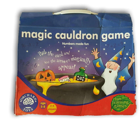 Magic Cauldron Puzzle