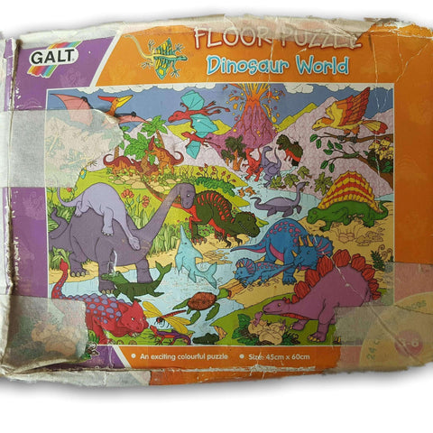 Floor Puzzle Dinosaur World