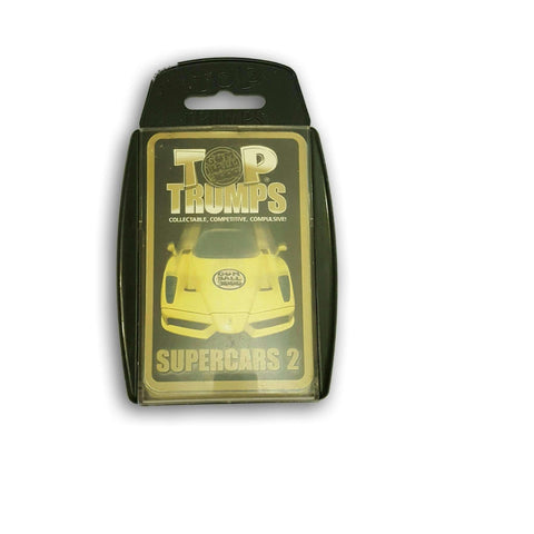 Top Trumps Super Cars 2