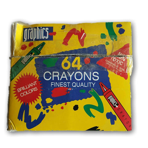63 Crayons. Great Quality