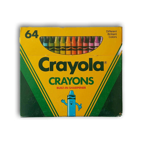 Crayola Crayons Pack Of 64