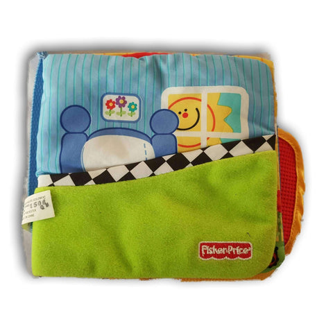 Cloth Book Fisher Price