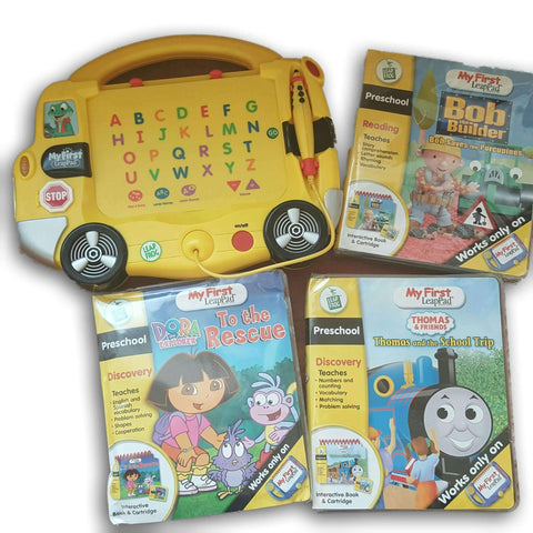 My First Leap Pad With Three Books