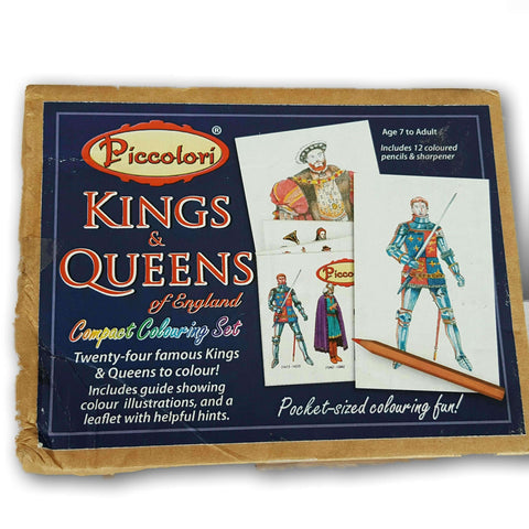 Kings And Queens Of England Colouring Sheets