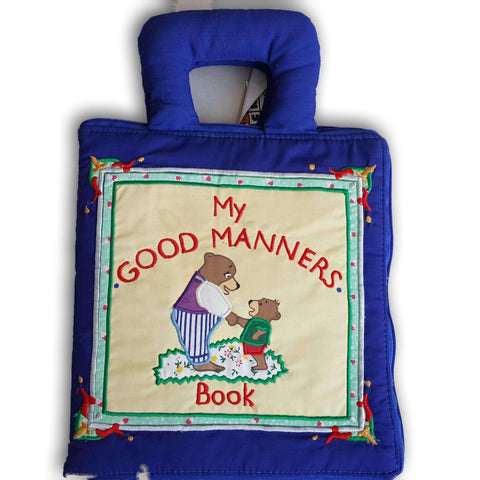 Cloth Book: My Good Manners