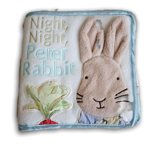 Cloth Book: Night Night Peter Rabbit