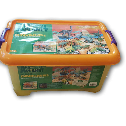 Animal planet big tub of Dinosaurs