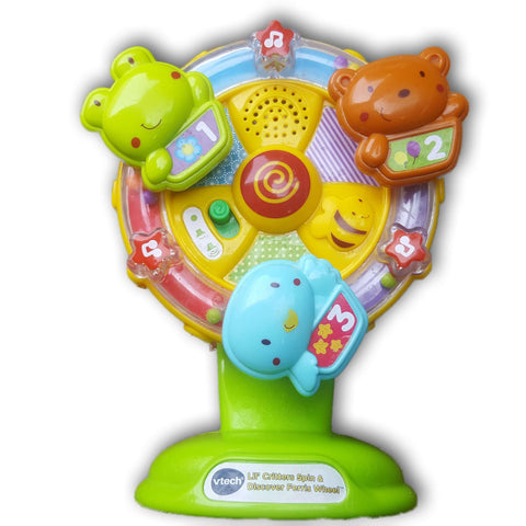 VTech Baby Lil' Critters Spin and Discover Ferris Wheel - Toy Chest Pakistan