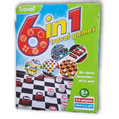 6 in 1 travel games - Toy Chest Pakistan