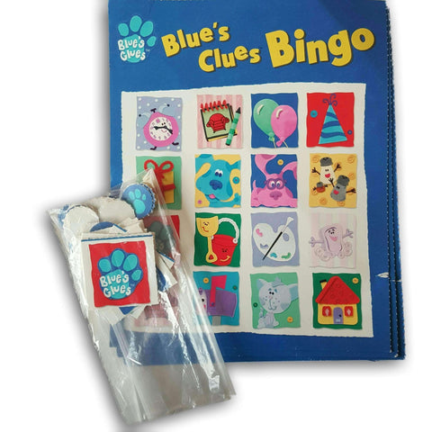 Blue'S Clues Bingo Board