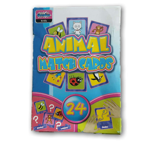 Animal Match Cards (Sight Words)