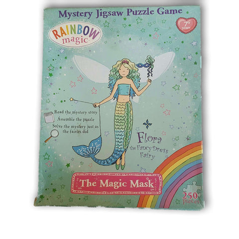 The Magic Mask Puzzle (No Booklet