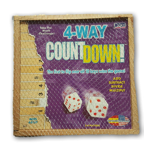 4-Way Countdown (Add, Subtract, Divide, Multiply!)
