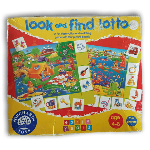 Look And Find Lotto