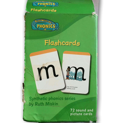 Read Write Inc Flashcards
