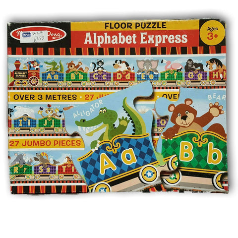 Melissa And Doug Alphabet Express Puzzle