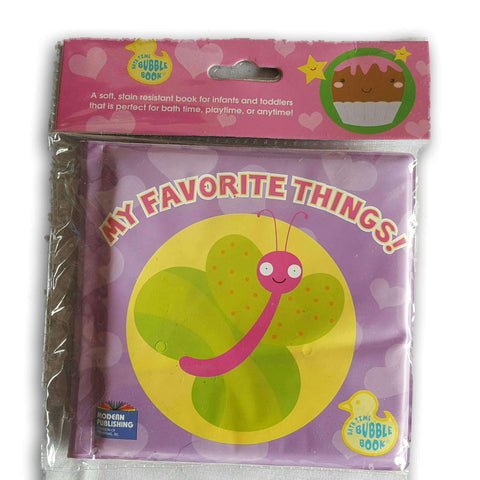 Bubble Book- My Favourite Things New