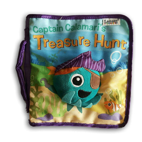 Cloth Book - Treasure Hunt With Ideas To Teach