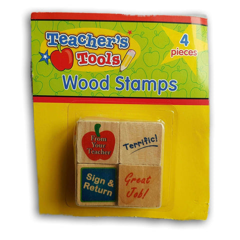Teache Resource- Wood Stamps