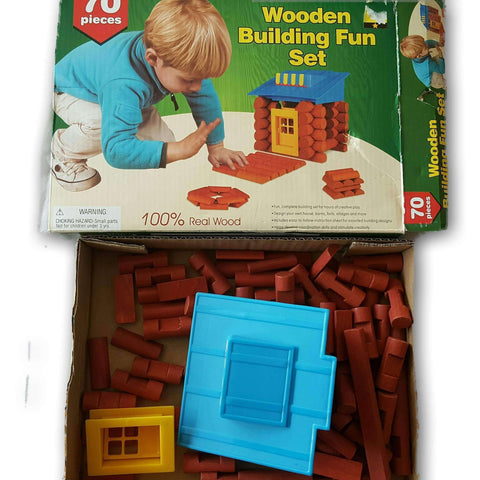 Wooden Logs (Like Lincoln Logs
