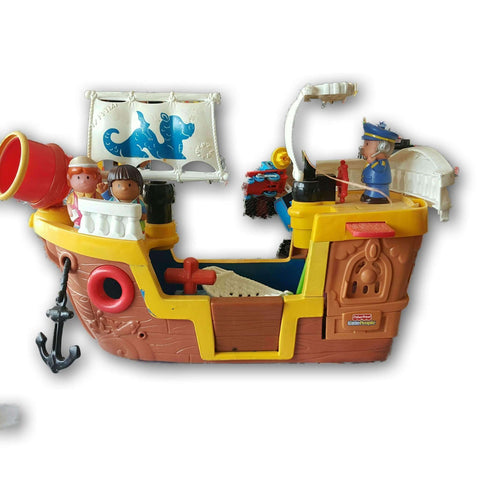 Fisher Price Little People Lil Pirate Ship