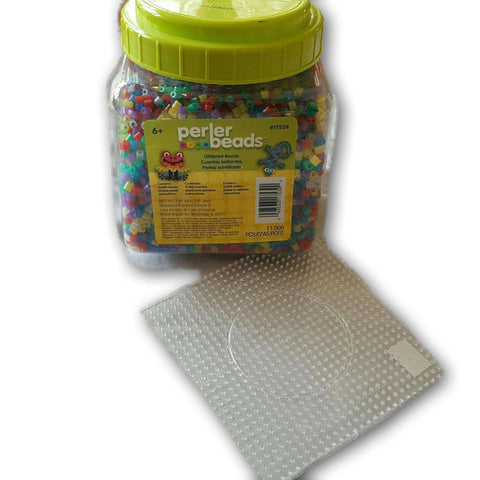 Hama Beads Jar With 1 Template