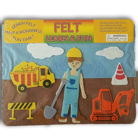 Felt And Learn Fun : Construction Set