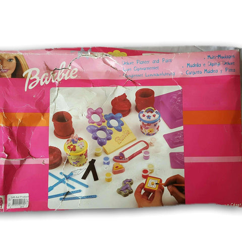 Barbie Deluxe Plaster And Paint Kit