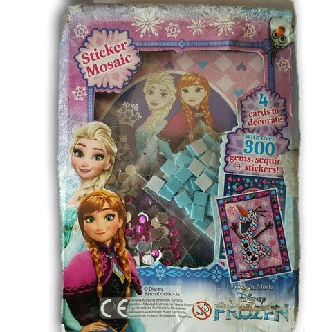 Frozen Card Decorating Kit
