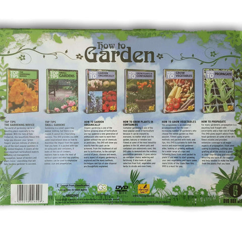 How To Garden Set Of Dvds