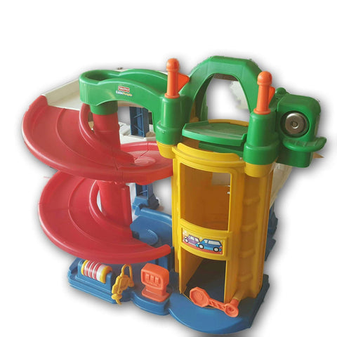 Fisher Price Little People Car Track Set